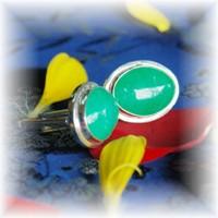 Jade cufflink
