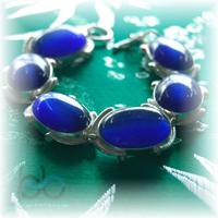 Cat eye stone bracelet